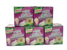 KNORR Garlic ( Ajo ) Seasoning Cubes 5 Boxes of 20 Mini Cubes HARD TO FIND!!