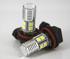 Mitsubishi CJ Lancer Hi-Power Xenon White Cree LED Fog Light Bulbs Globes
