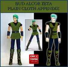 BUD ALCOR ZETA PLAIN CLOTH APPENDIX, SAINT SEIYA MYTH CLOTH Asgard SYD MIZAR