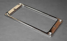 Guitar Parts Humbucker Pickup Flat Bezel METAL MOUNTING RING - CHROME