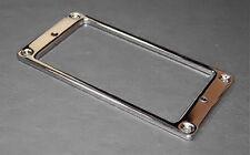 Guitar Parts Humbucker Pickup Flat Bezel METAL MOUNTING RING - CHROME