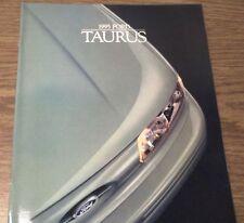 1995 FORD TAURUS BROCHURE -TAURUS GL-SE-LX-SHO-TAURUS 4D-TAURUS WAGON