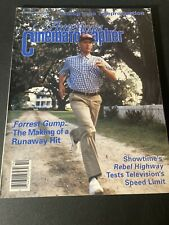 American Cinematographer~October 1994 Forest Gump~ EX Condition NO Label
