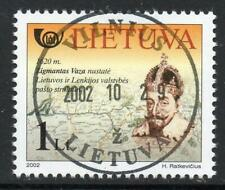 LITHUANIA USED/CTO 2002 Postal History