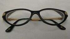 Versace Eyeglasses MOD 3166-B GB1 51 15 135 Cat Eye Black w/ Prescription Lens
