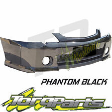 FRONT BAR PHANTOM BLACK SUIT HOLDEN COMMODORE VY SS 02-04 S BUMPER COVER