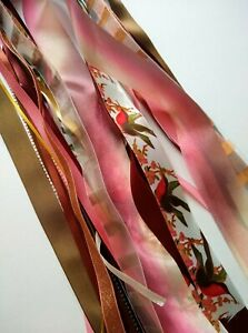 Shades of Autumn Ribbon Bundle -15 x Generous Metres Assorted Widths/Types - NEW