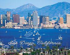 California - SAN DIEGO day - Travel Souvenir Flexible Fridge Magnet