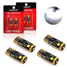 4x Super Bright LED License Plate Light Bulbs 6000K White Fit Size 194 168 2825