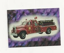 Fire Engines series three Prism Card # 14
