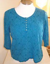 Dressbarn Women's Lace Overlay Top Size 1X