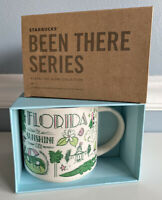 Starbucks FLORIDA Been There Series 14oz Mug Across The Globe Collection NEW BTS