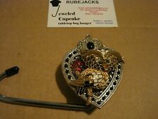 "JC Table Counter Bar Top Bag Purse Hook Hanger "" birdy "" COA"