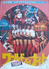 WORLD BY NIGHT TODAY MONDO DI NOTTE OGGI Japanese B2 movie poster 1978 SEX NM