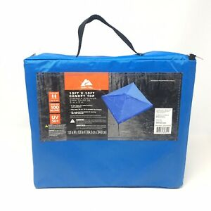 Ozark Trail 10 x 10 Canopy  Cover for Straight Leg Canopies, Blue
