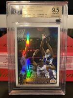 2003 TOPPS CHROME CARMELO ANTHONY REFRACTOR RC ROOKIE BGS 9.5 GEM MINT! 📈