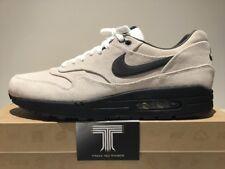 Nike AIR MAX 1 Premium in Pelle ~ RARE! un solo su ebay!!! 512033 100 ~ UK 12
