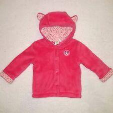 DISNEY BABY gilet à capuche veste MINNIE rose taille 6 mois neuf
