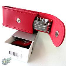 Victorinox Sheath Case RED Belt Pouch Push Button Swiss Army Knife 1.6795 35763