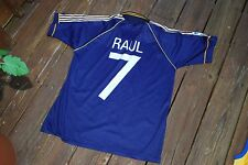 Raul Real Madrid Galacticos Team Adult Large Jersey