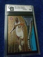 ROOKIE CARD 2001 TOPPS PRISTINE#69 JASON RICHARDSON GRADE A PERFECT 10