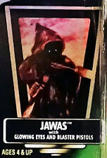 Jawas Unopened Star Wars POTF2 1996 Action Figure Hologram Green Card