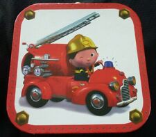 Lunch Box with 4 Cardboards Fireman Puzzles - 7.9'' X 7.9''