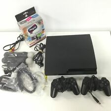 Sony Playstation 3 Slim Console 320GB HDD w/ 2 Controllers, Play TV & Move #404