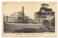 cabourg  le casino ,le grand hôtel et les jardins      (a0116)