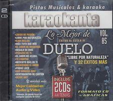 Duelo Lo mejor De Exitos Karaokanta Vol 85 2CD Karaoke New Nuevo Sealed