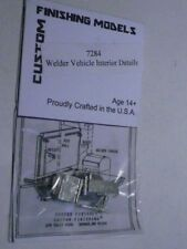 Custom Finishing HO Welder Vehicle Interior Details 1:87 (2 PHOTOS) 7284 / 7003