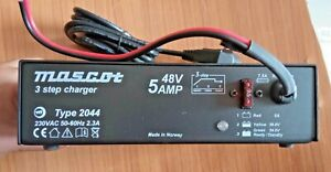 MASCOT 3 STEP BATTERY CHARGER TYPE 2044 48V 5AMP NEW