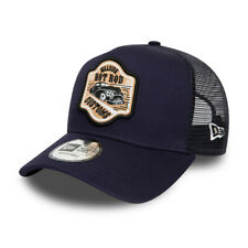 New Era Hot Rod Trucker Snapback Baseball Cap - Navy