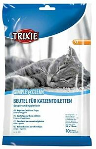 Trixie 10 Piece Cat Litter Tray Bags, X-Large