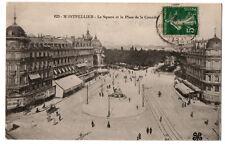 CPA 34 - MONTPELLIER  (Hérault) - 623. Le Square et la Place de la Comédie
