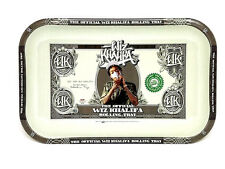 Wiz Khalifa Small Metal Rolling Tray - RYO - Tobacco Accessory- Collectible 10in