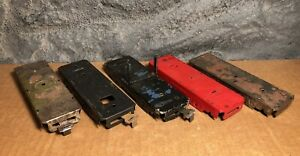 Marx | PARTS LOT | 5 Lot | Train Car Bases ONLY | No Wheels | For Restoration