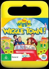 The Wiggles - Wiggle Town (DVD, 2016, CD 2-Disc Set) Brand NEW with FREE POST! *