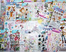 HUGE LOT 20 pkgs Disney Scrapbooking Stickers Mickey,Brave,Fairy,Princess +