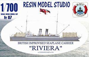 "RMS Neptun 07 : ""HMS RIVIERA"" Brit. Seeflugzeugträger WW I / Resin Kit 1:700"