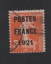 Préoblitéré N°33 5 c semeuse poste France 1921
