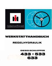 Werkstatthandbuch Regelhydraulik für IHC Traktor  533