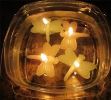 Lot of 12 Floating Dragonfly Candles Wedding Centerpiece Decor Bath Party A-21
