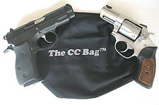 Conceal Carry Gun Bag Holster Pouch Pack Purse Protection Shoot Thru The CC Bag