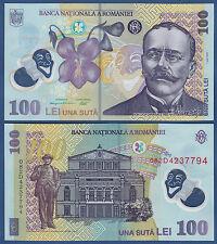 Rumanía/Romania 100 lei 2005 (20) 08 (polímero) UNC p.121