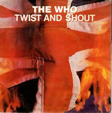 "THE WHO TWIST AND SHOUT 7"" VINILO SPANISH 1984"