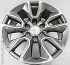 4 Chevy Suburban Silverado Tahoe Rst Gunmetal Machined 20 Wheels Rims Lugs 5916