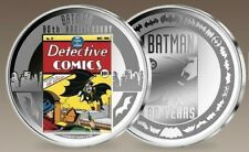 Medaille - Comic * Gedenkprägung * 80 Jahre Batman - versilbert * NEU *