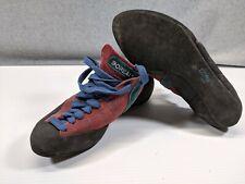 Boreal Fusion S-2 Women's Rock Climbing Shoes Size 7 Us, 39.5 Eur Maroon & Blue