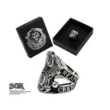 ORIGINAL SONS OF ANARCHY ROAD GEAR REAPER CREW RING  *NEW*